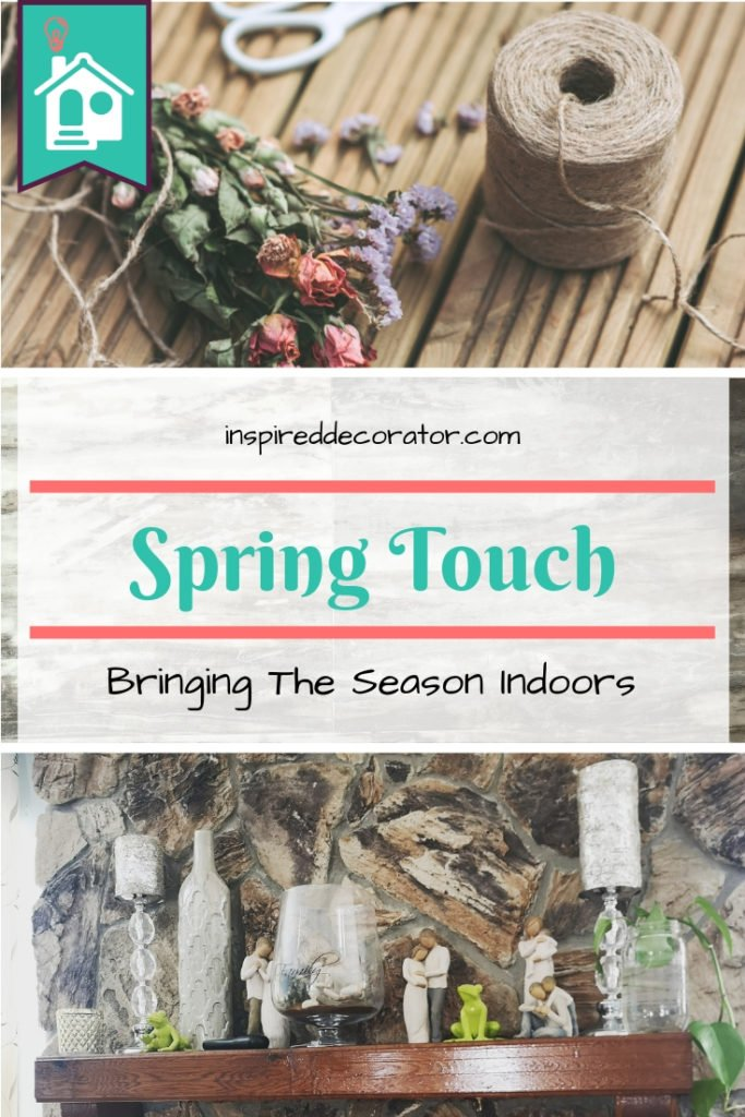 Try these colorful ideas to freshen up your home decor this spring! Make the most of flowers, colors, and prints this season! inspireddecorator.com