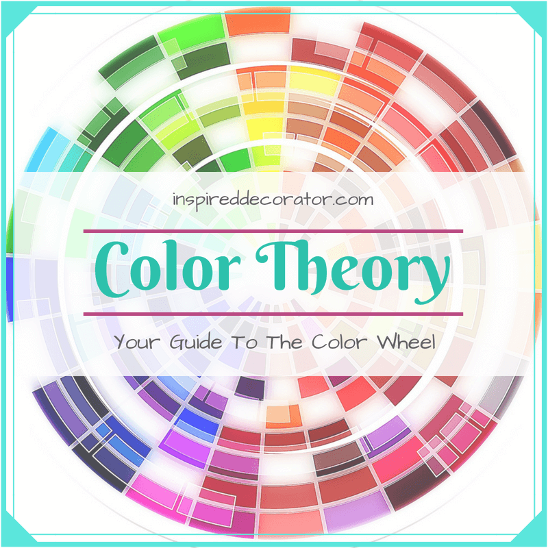 A guide to the color wheel, color theory, and color schemes. www.inspireddecorator.com