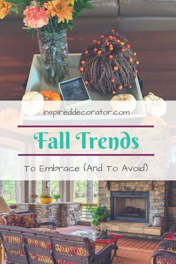 Once the temperature dips and the pumpkin spice flavours everything, are you eager to decorate for fall? How do you include the fall trends into your own home? This guide is here to help you with finding the best fall trends to embrace... and the best to avoid! www.inspireddecorator.com