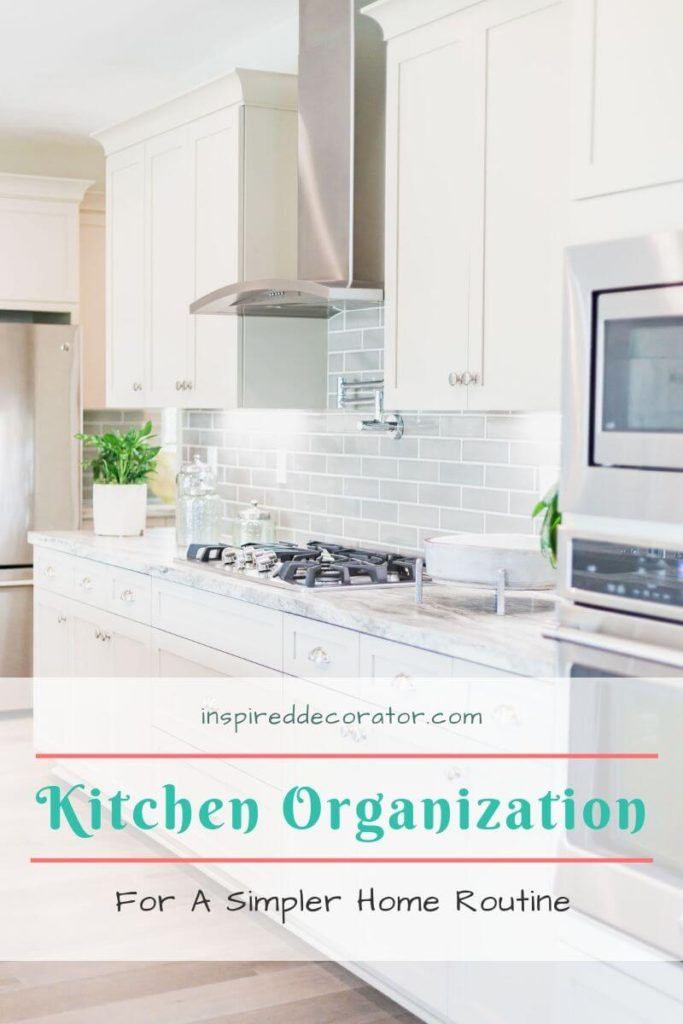 The way your home is organized can make a big difference in your home routine. Save time with optimized kitchen organization optimized for your lifestyle.