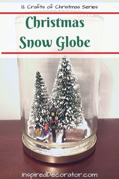 Holiday decor isn't the same without a Christmas Snow Globe. Give your home a rustic twist with a DIY snow globe made from a jar. You set the scene and seal it in for years of enjoyment.
