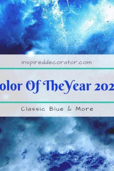 The news is out, the choices for Color of the Year 2020 are in. From Pantone's Classic Blue, Benjamin Moore's First Light to Sherwin Williams Naval, catch up on the selections for coty 2020 by the most popular paint and color companies.