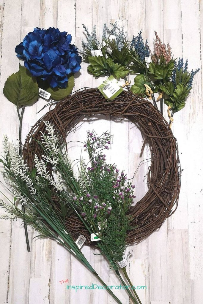 All wreath supplies are from Michael's Canada. - the Inspired Decorator