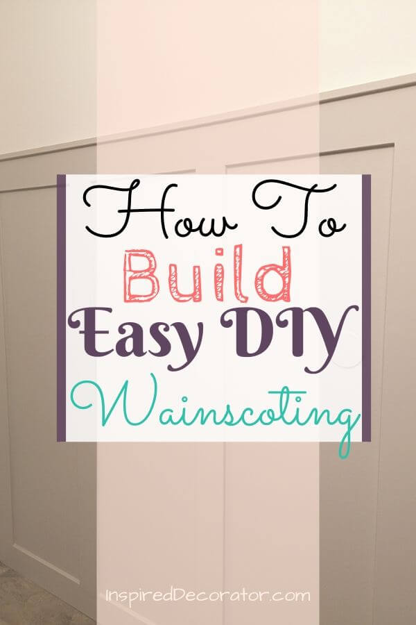 Create your own faux diy board and batten wainscoting with a few simple supplies and this step-by-step guide.