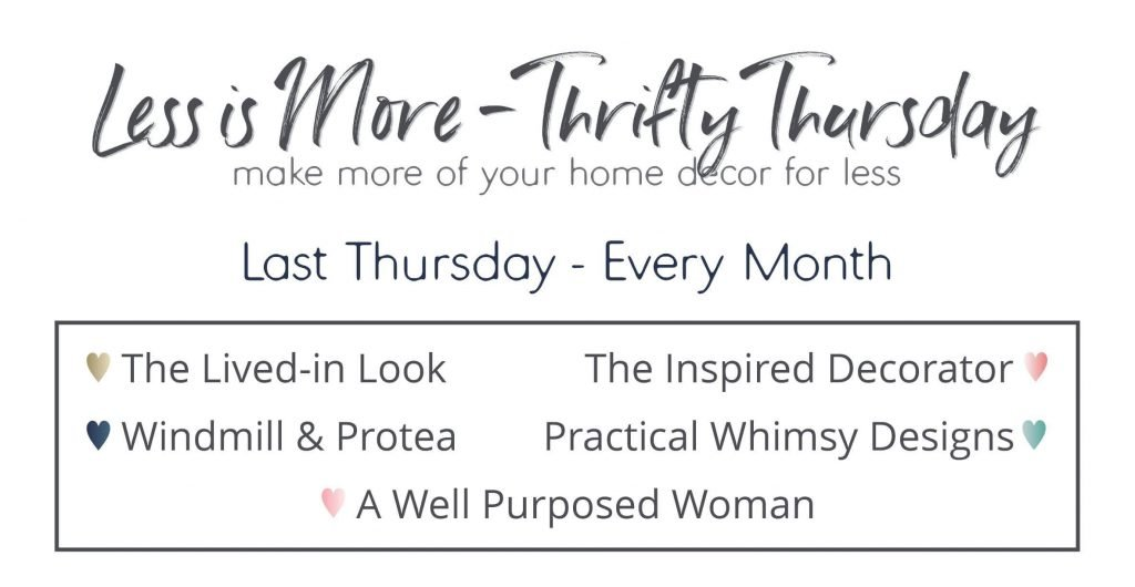 Less Is More Thrifty Thursday Monthly Post Collection