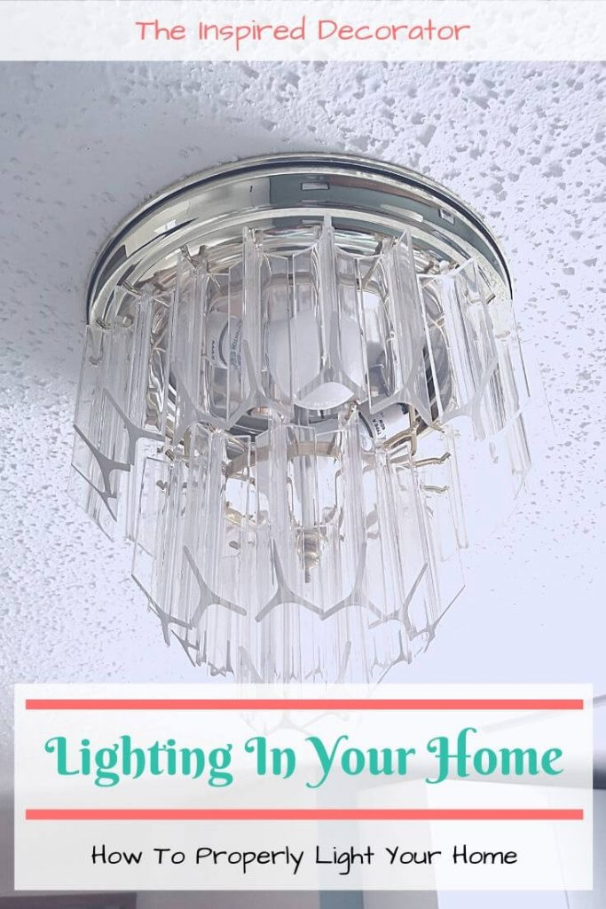 How many lights do I need in my home? Discover how to properly light your home for comfort and style. The lighting in your home is a key part of the look and feel of every room. - the Inspired Decorator