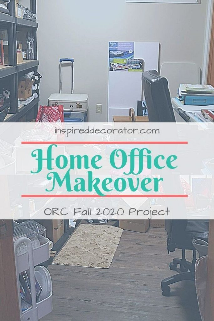 Revealing my Home Office makeover plan for the One Room Challenge.