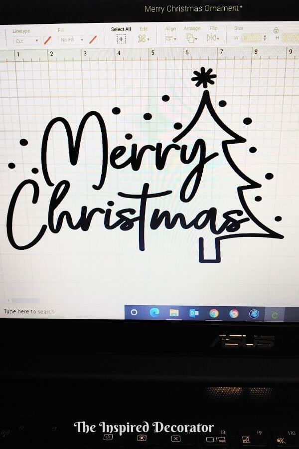 Merry Christmas free design by Idalia at Perfect Stylish Cuts.