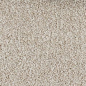 Off-white carpet keeps the nursery warm. This carpet by Beaulieu Canada is stain resistent, odor repellent, and plush to last a long time.