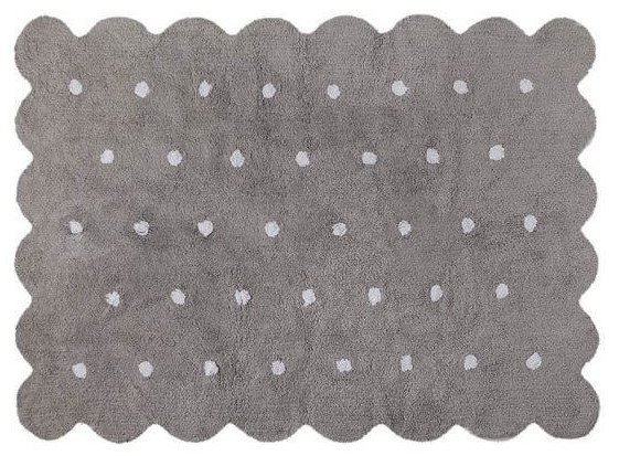 Biscuit Area Rug Grey by Lorena Canals