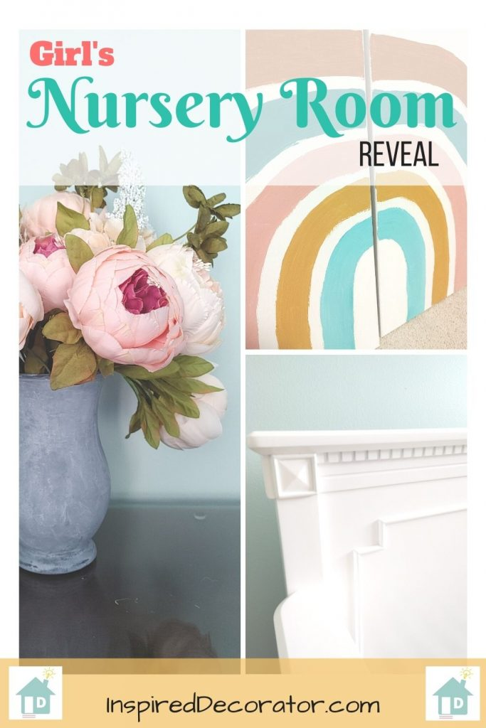 Revealing our Girl's nursery room- materials linked and diy's included!